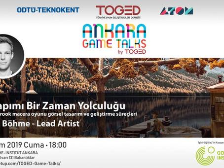 Ankara Game Talks Devam Ediyor