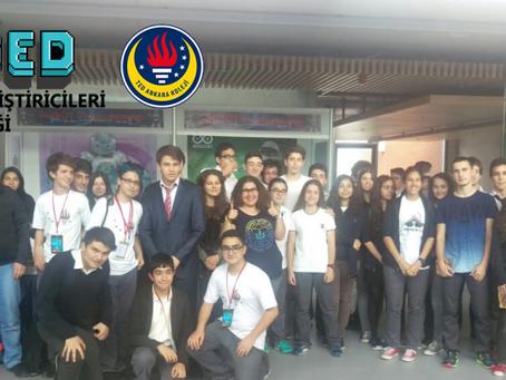 DOGED, TED Ankara Koleji- Bilişim ve Eğitim Teknoloji Günleri' ndeydi