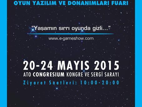 E-Game Show Başlıyor, Bağımsız Oyun Geliştiriciler Ankara'da Sahneye Çıkıyor!