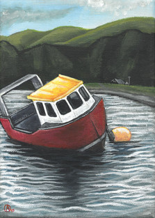 5x7 Barmouth Afloat.jpg