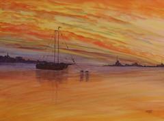 Harbour Sunset - Martin Bond.JPG