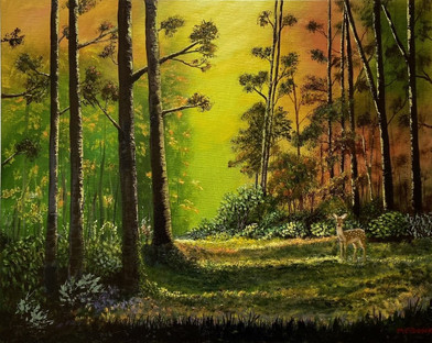 Woodland Deer - Martin Bond.jpg