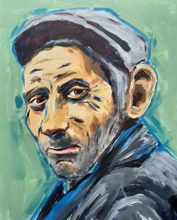 chrismgoddard portrait practice old man.