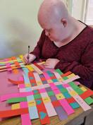 Paper weaving -Collaborative work.JPG