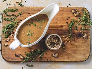 Chestnut and Mushroom Gravy - Recipe