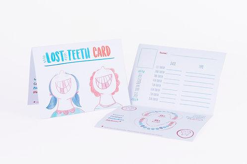 Lost Teeth Card
