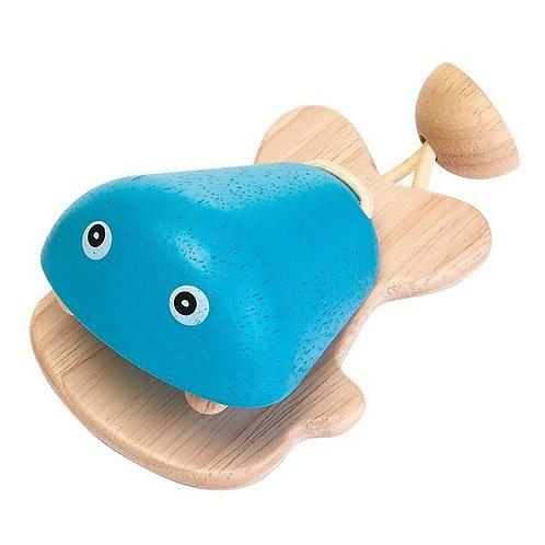 Fish Castanet blue