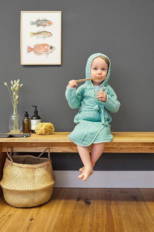 Muslim Bathrobe 12-18 months - Mint