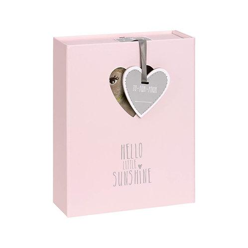 Baby Welcome Box, Lela Light pink