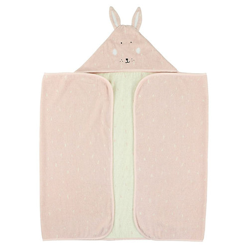 Hooded towel 70x130cm - Mrs. Rabbit