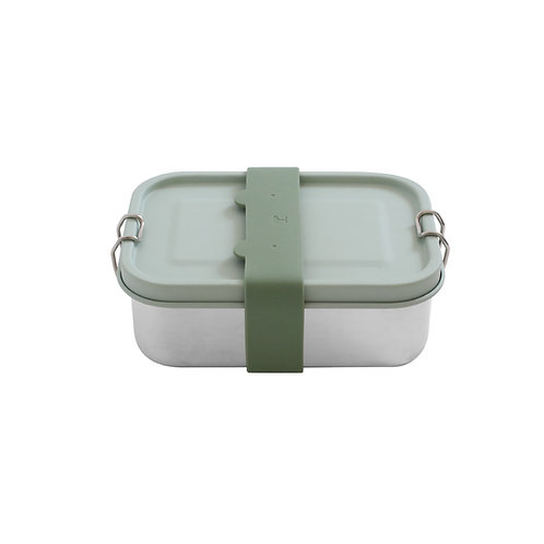 Stainless Steel Lunch Box – Sage