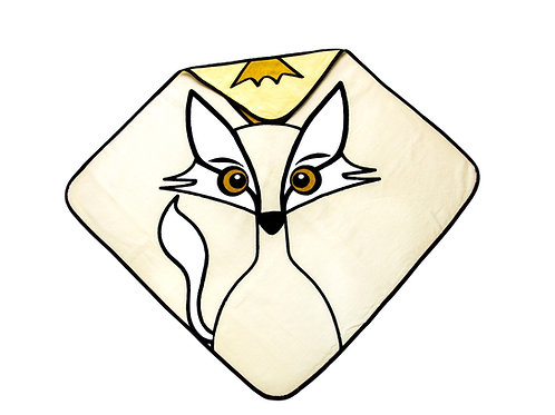 Hooded Towel - Fox yellow