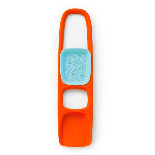 Scoppi - Sand shovel with sieve orange
