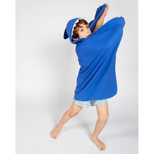 Autonomy hooded towel Shark Maxi Dark Blue