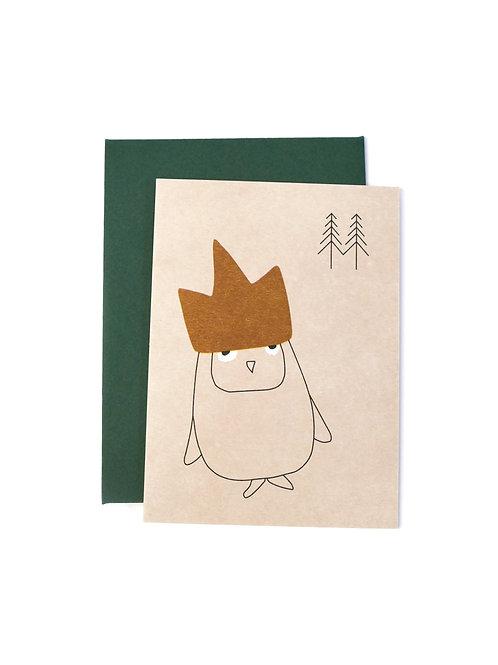Giftcards (7,5x10,5cm) - Birthday Owl