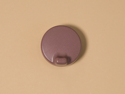 Bamboo sippy cup lid - Beet