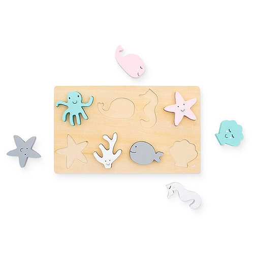 Wooden puzzles - Sea animals