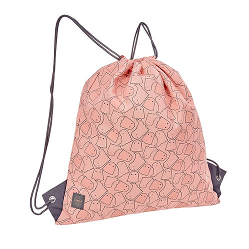 Mini String Bag Spooky peach