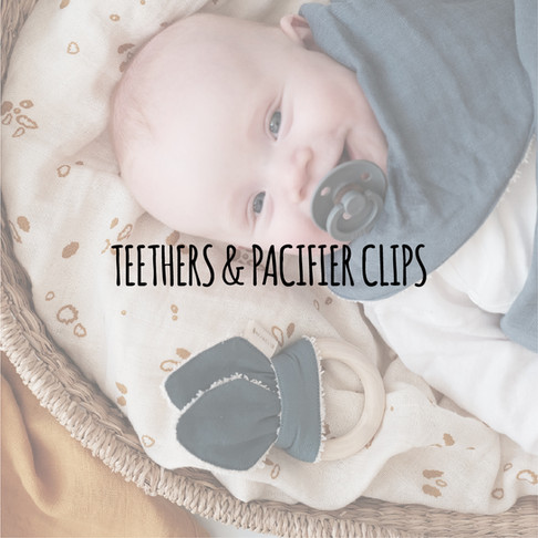 Teethers & Pacifier Clips
