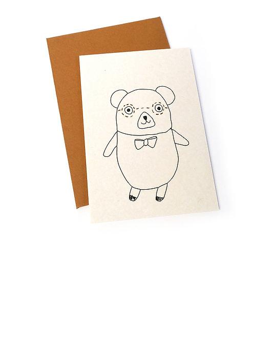 Giftcards (7,5x10,5cm) - Lennon Bear