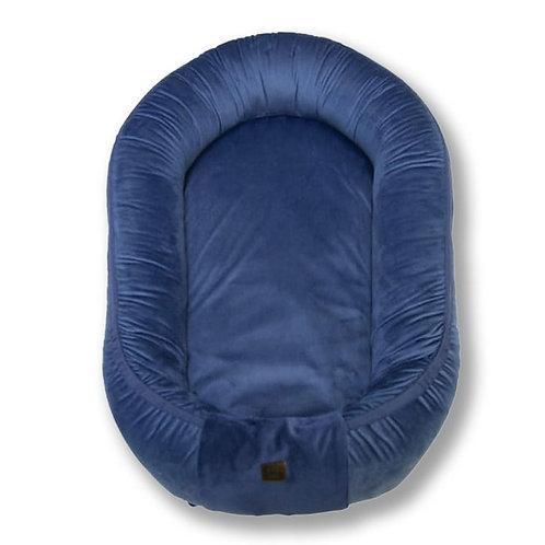 Baby Nest Premium BeVelvet - Midnight Blue
