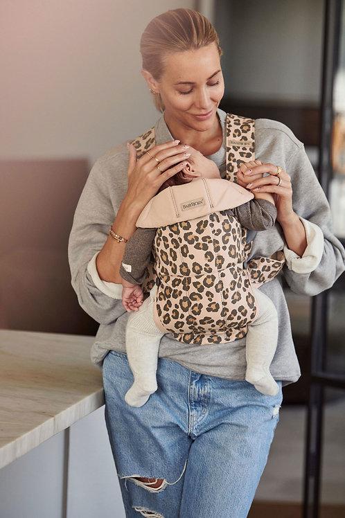 Baby Carrier Mini - Beige/Leopard