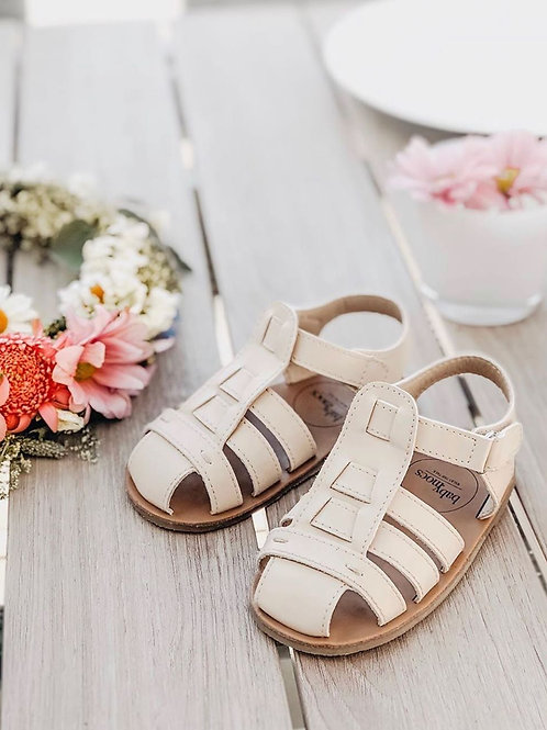Beach Sandal Off White 6-12 months