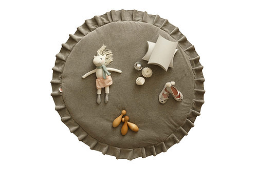 Playmat Velvet grey