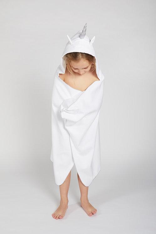 Autonomy hooded Bath towel Unicorn Maxi