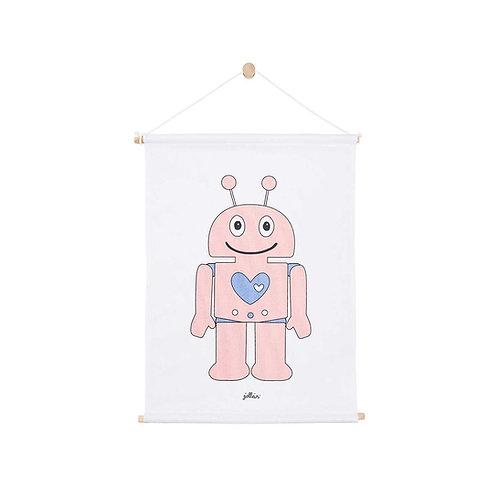 Poster 42x60cm Robot  pink