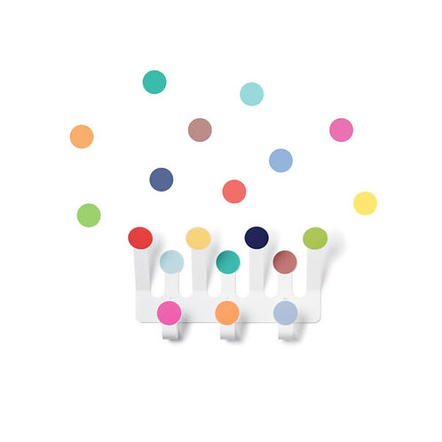 Wall hook dots & wall stickers - Multicolor