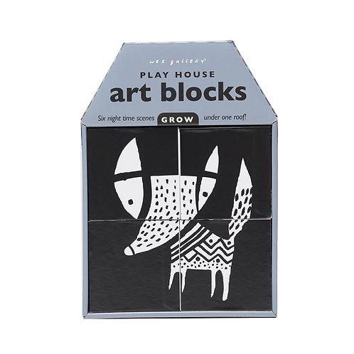 Play House Art Blocks - Night Time Scenes