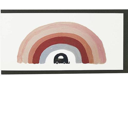 Double Giftcards (21x10cm) - Rainbow