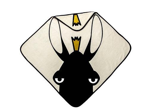 Hooded Towel - Moose beige