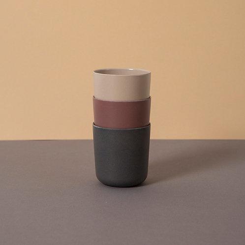 Bamboo Mug (3 pack) Fog/Beet/Ocean