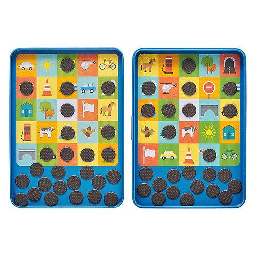 Magnetic Travel Game -Travel Bingo