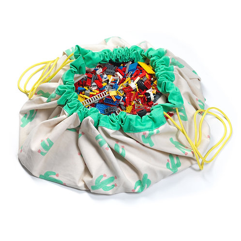 Cactus toy storage bag