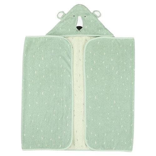 Hooded towel 70x130cm - Mr. Polar Bear