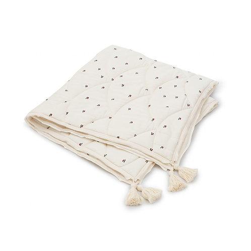 Baby Quilt Cotton - Cherry