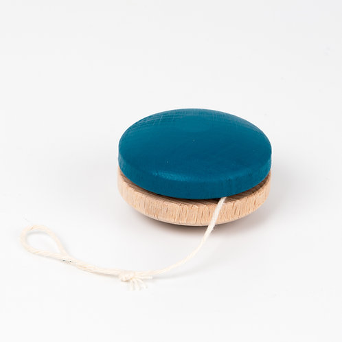 Wooden Yoyo - Blue