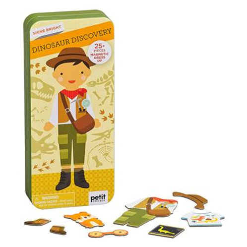 Magnetic Dress Up - Dino Discovery