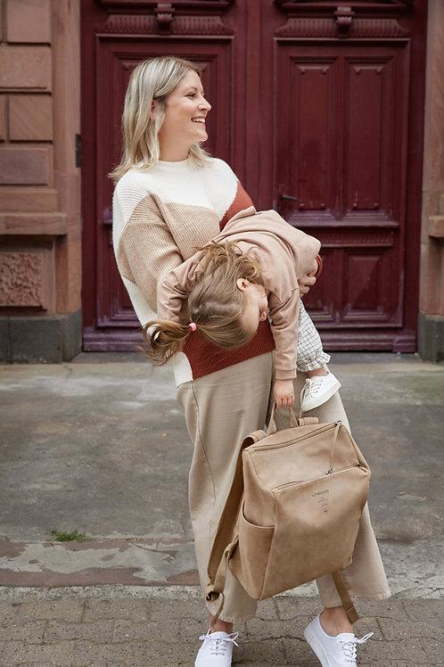Diaper Bag Backpack, Camel