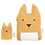 Thumbnail: Animal Cushion Kangaroo & Joey