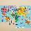 Thumbnail: Map of the World Geography Puzzle