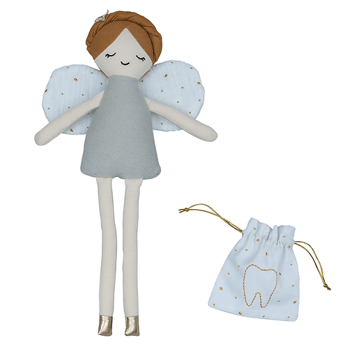 Doll - Tooth Fairy w. pouch