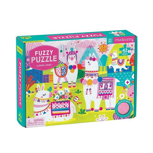 Lama land Fuzzy Puzzle