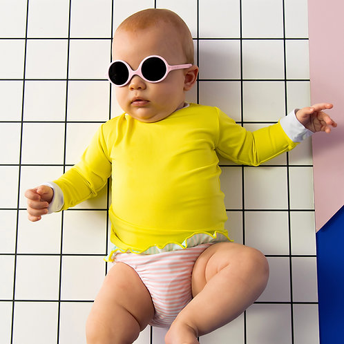 Sunglasses - Diabola Light Pink 0-1 year old