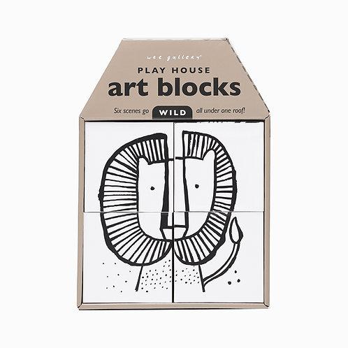 Play House Art Blocks - Wild Scenes