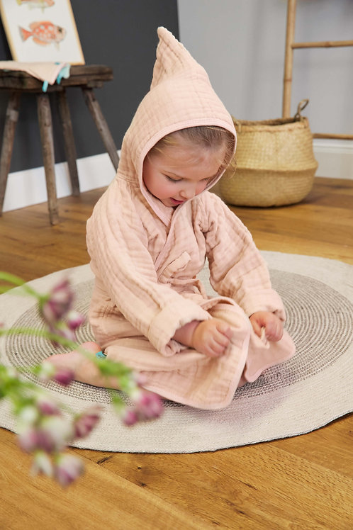 Muslim Bathrobe 12-18 months - Pink