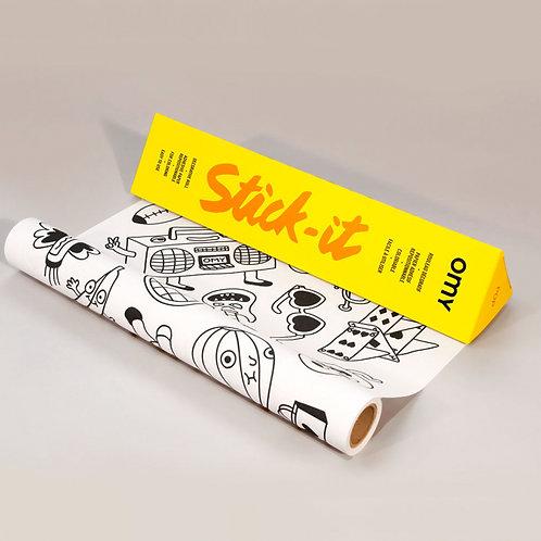 Pop - Stick it - Decorative Coloring Roll